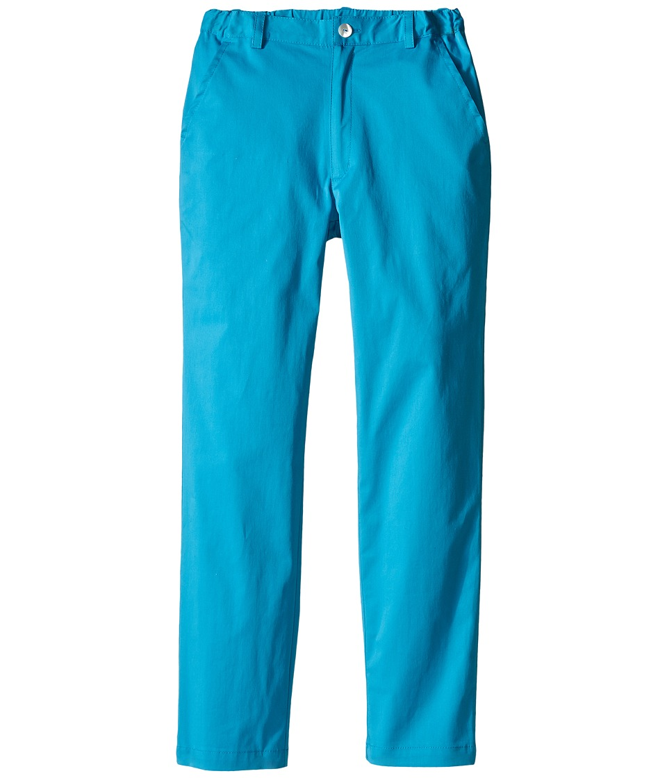 Oscar de la Renta Childrenswear - Cotton Classic Pants (Toddler/Little Kids/Big Kids) (Caribbean) Boy's Casual Pants