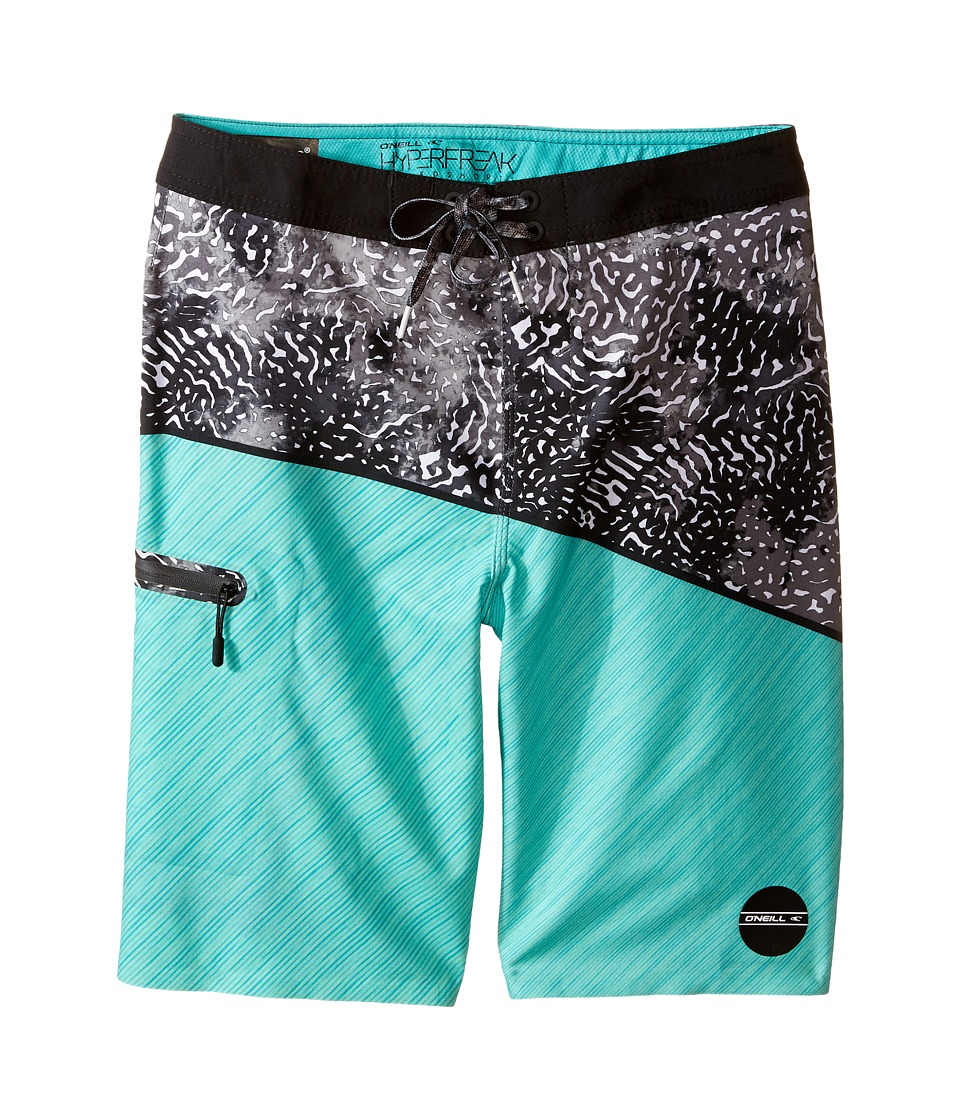 O'Neill Kids - Hyperfreak Oblique Boardshorts (Big Kids) (Mint) Boy's Swimwear