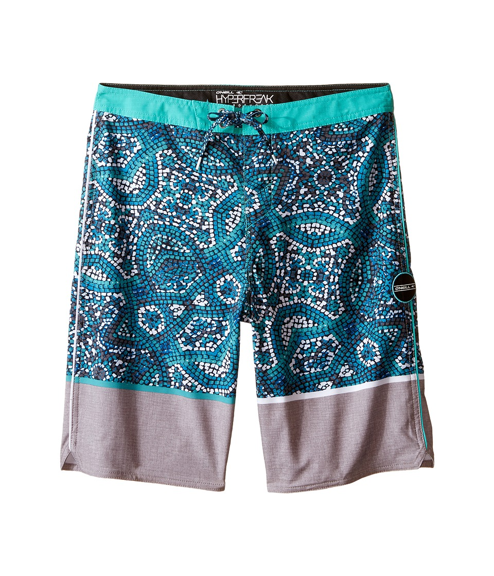 O'Neill Kids - Hyperfreak Canggu Boardshorts (Big Kids) (Grey) Boy's Swimwear