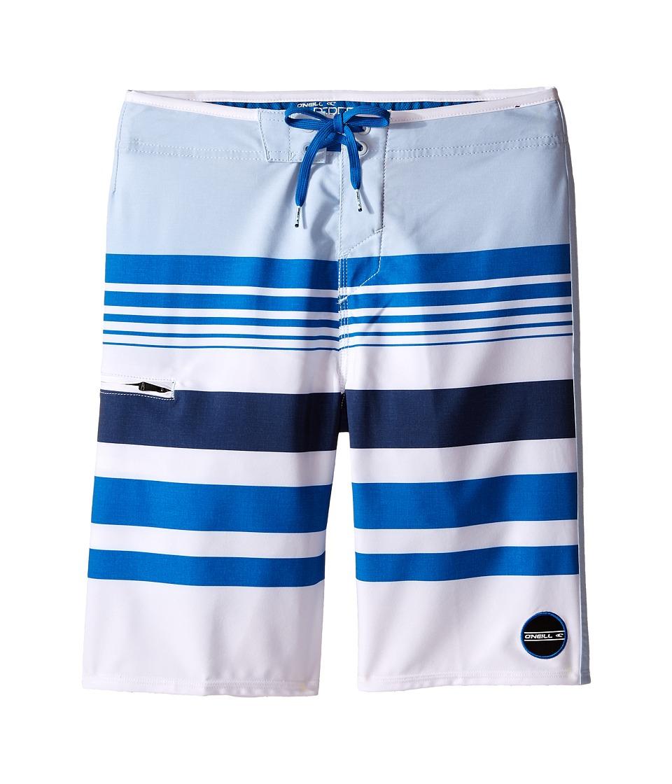 O'Neill Kids - Hyperfreak Heist Boardshorts (Big Kids) (White) Boy's Swimwear