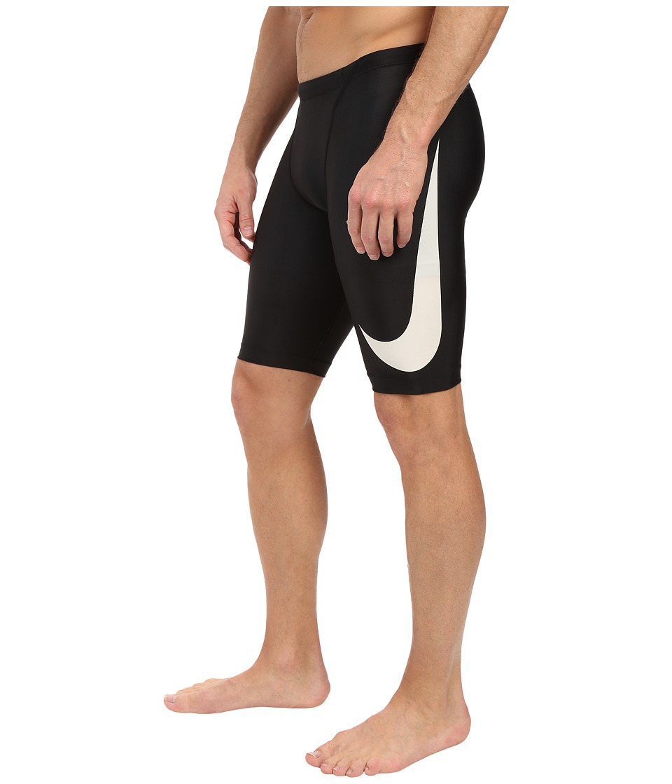 Nike - Big Swoosh Jammer (Black) Men's Swimwear