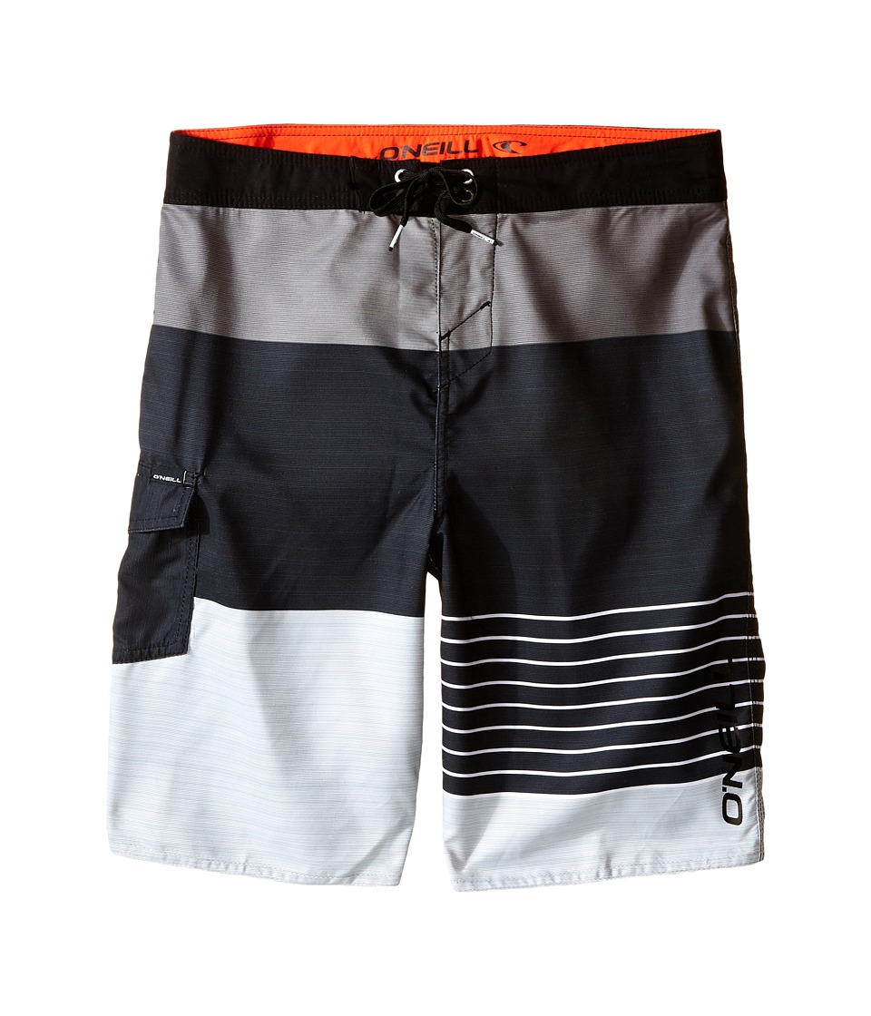 O'Neill Kids - Lennox Boardshorts (Big Kids) (Black) Boy's Swimwear