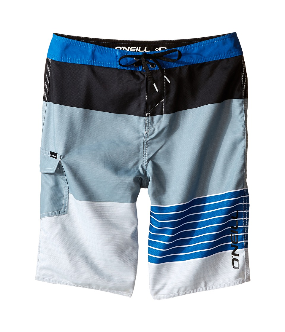 O'Neill Kids - Lennox Boardshorts (Big Kids) (Light Blue) Boy's Swimwear
