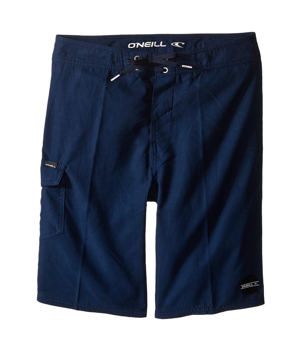 O'Neill Kids - Santa Cruz Solid Boardshorts (Big Kids) (Navy) Boy's Swimwear