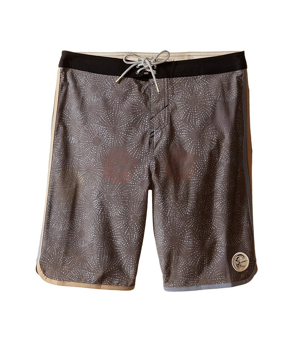 O'Neill Kids - Retrofreak Hook Boardshorts (Big Kids) (Black) Boy's Swimwear