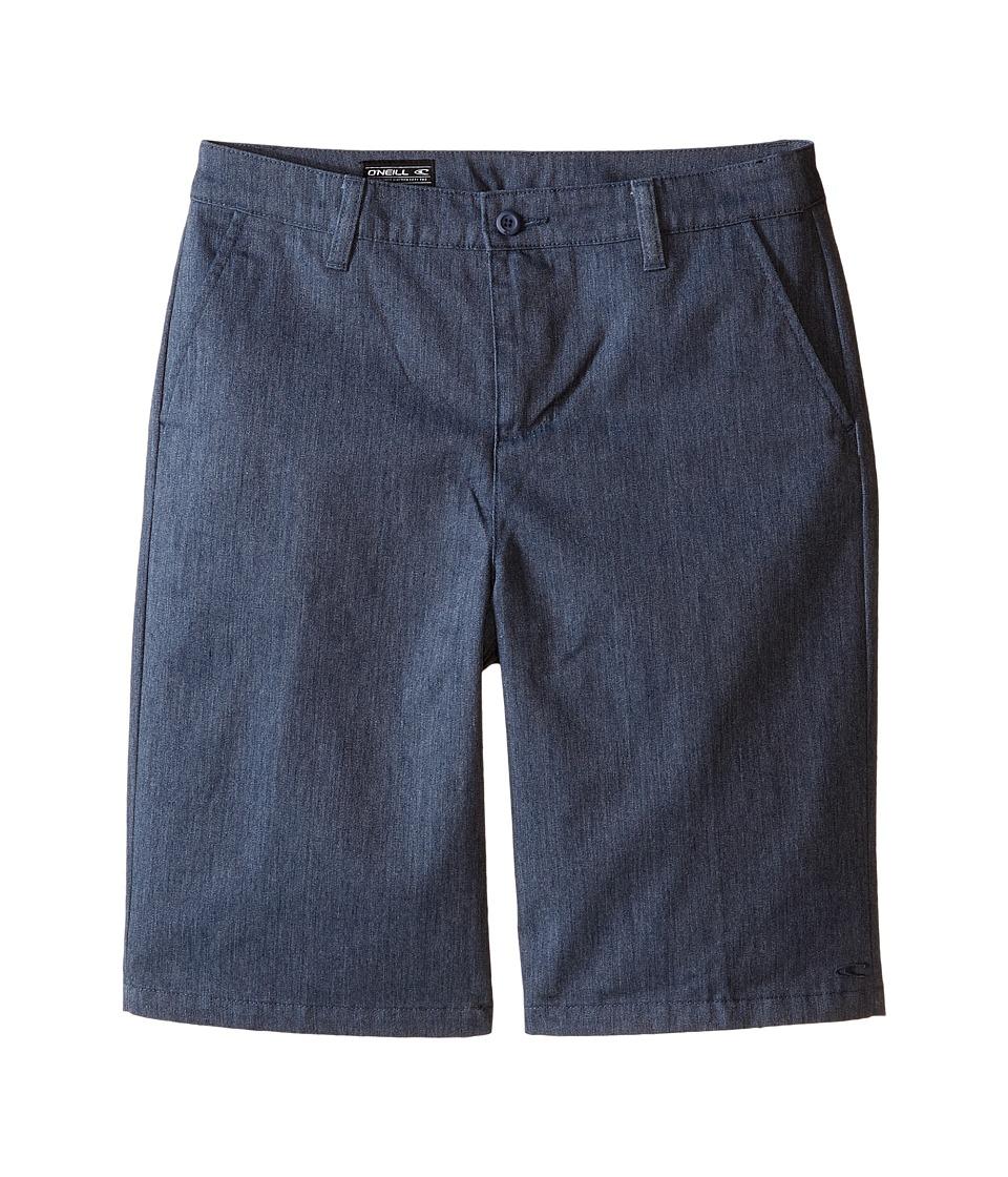 O'Neill Kids - Contact Walkshorts (Big Kids) (Blue Heather) Boy's Shorts