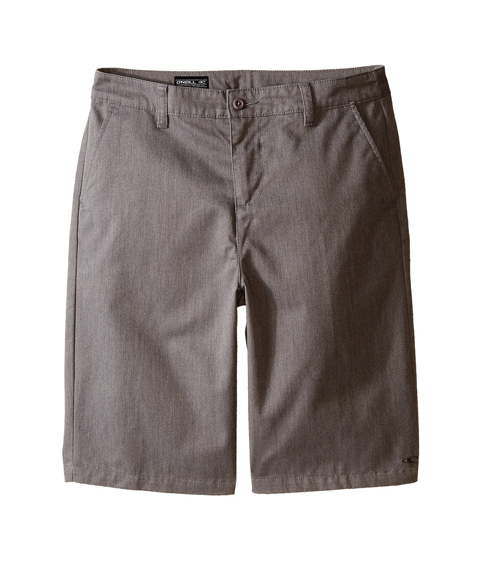 O'Neill Kids - Contact Walkshorts (Big Kids) (Heather Grey) Boy's Shorts