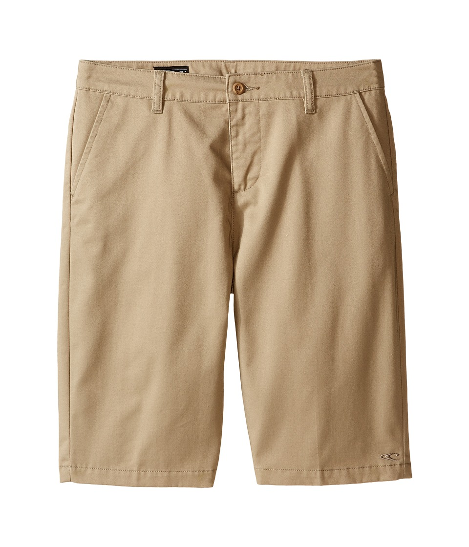 O'Neill Kids - Contact Walkshorts (Big Kids) (O'Neill Khaki) Boy's Shorts