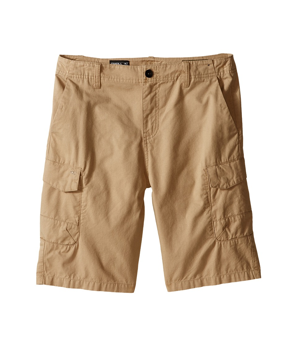 O'Neill Kids - Black Hawk Cargo Shorts (Big Kids) (Khaki) Boy's Shorts