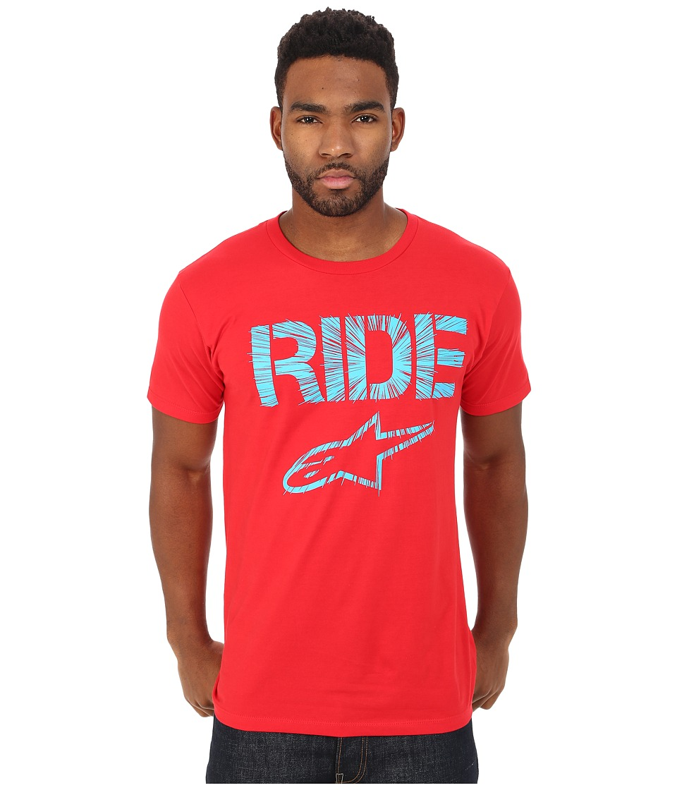 Alpinestars - Ride Headlong Tee (Red) Men