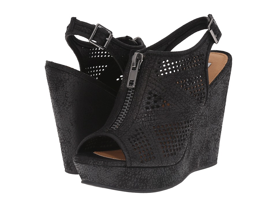Not Rated - Forrest (Black) Women's Wedge Shoes