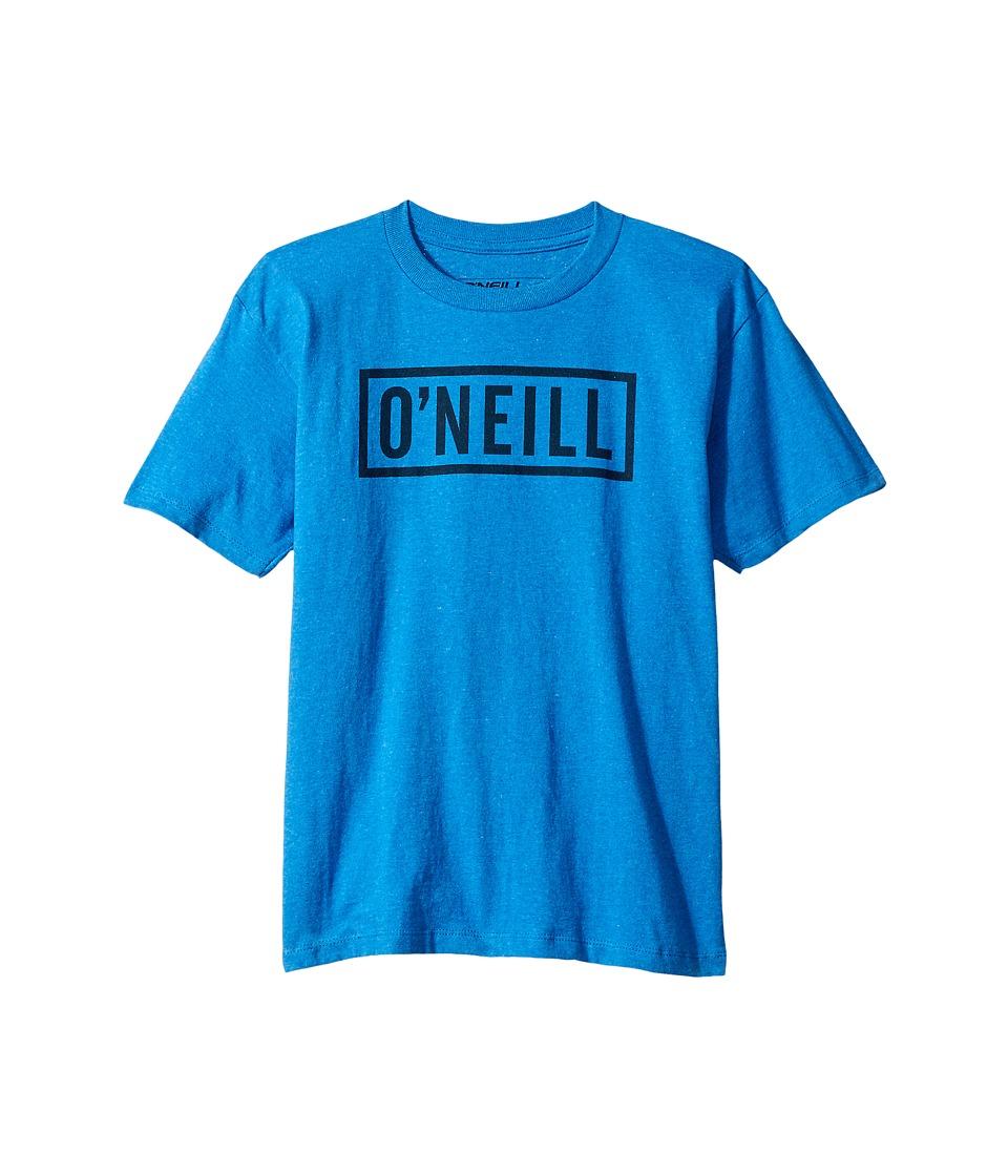 O'Neill Kids - Block Short Sleeve Screen Tee (Big Kids) (Sea Blue) Boy's T Shirt