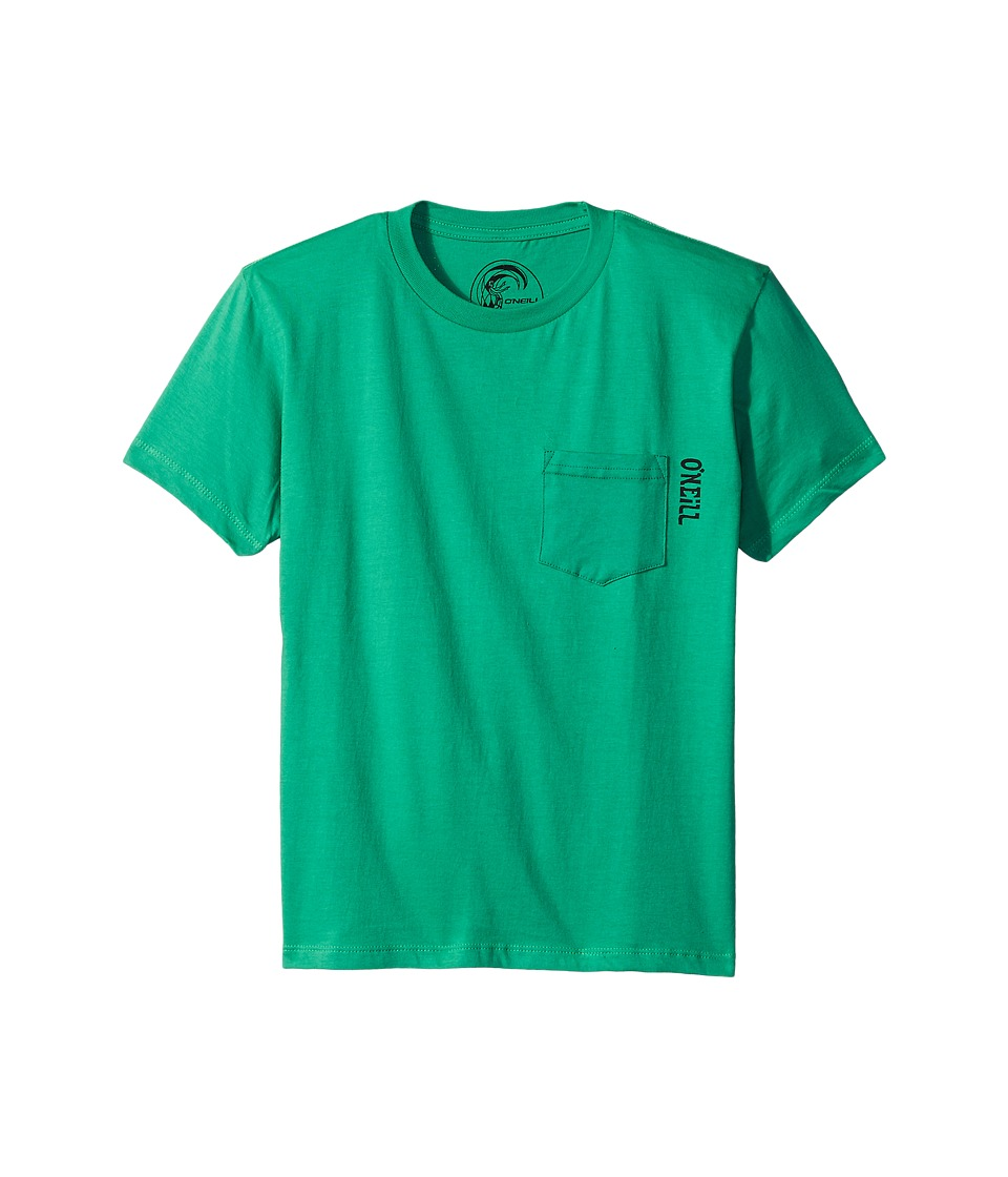 O'Neill Kids - Loop Short Sleeve Screen Tee (Big Kids) (Shamrock) Boy's Short Sleeve Pullover