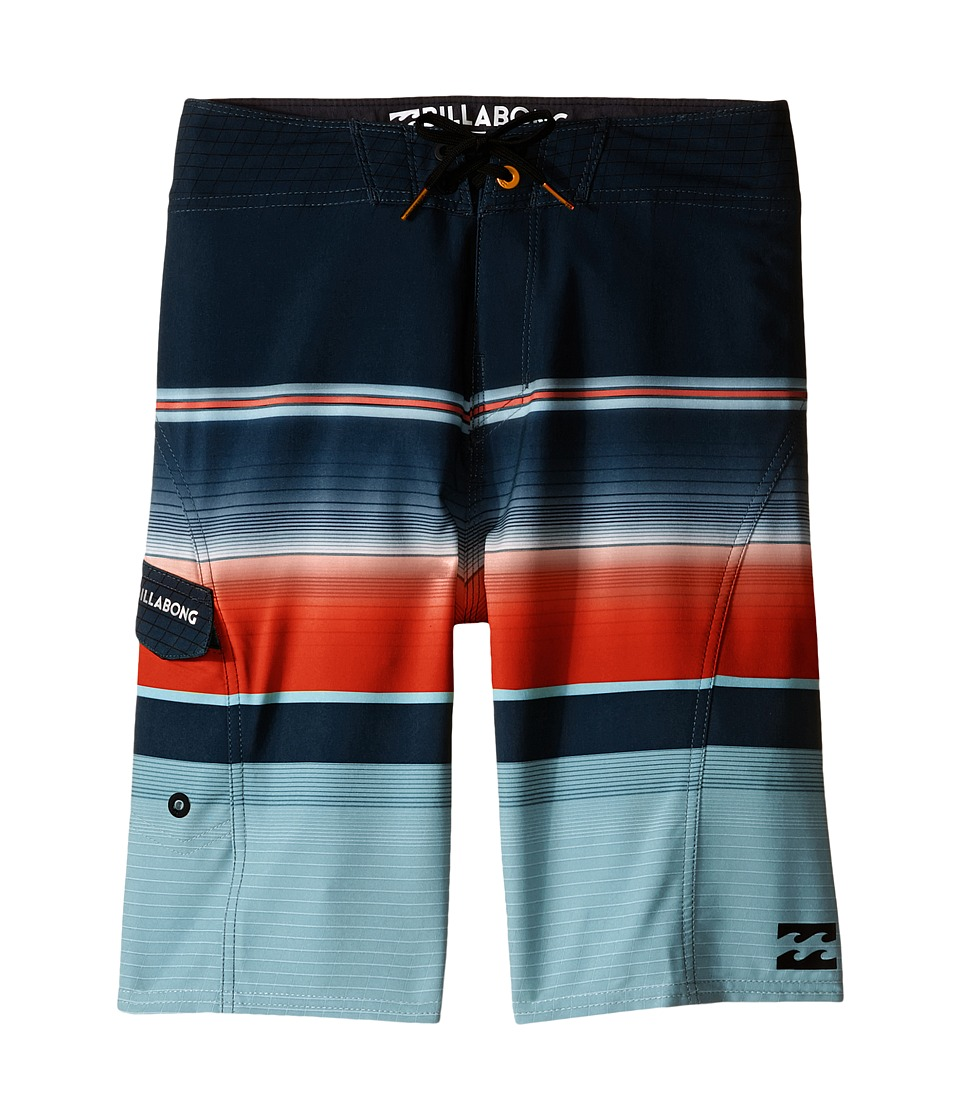Billabong Kids - All Day X Stripe (Big Kids) (Haze) Boy's Swimwear