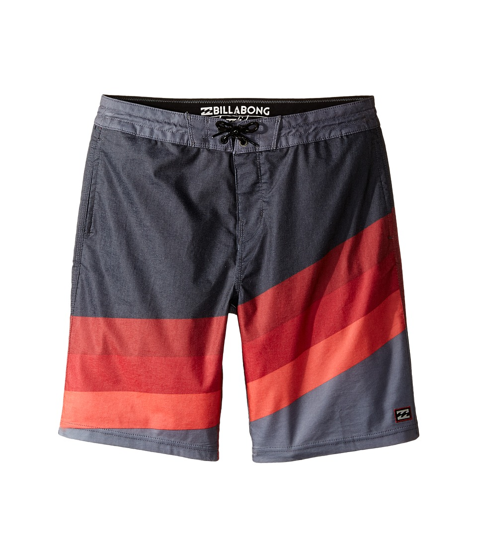 Billabong Kids - Slice Lo Tides (Big Kids) (Stealth) Boy's Swimwear