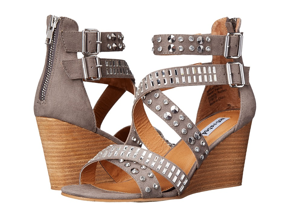Not Rated - Serpentina (Grey) Women's Wedge Shoes