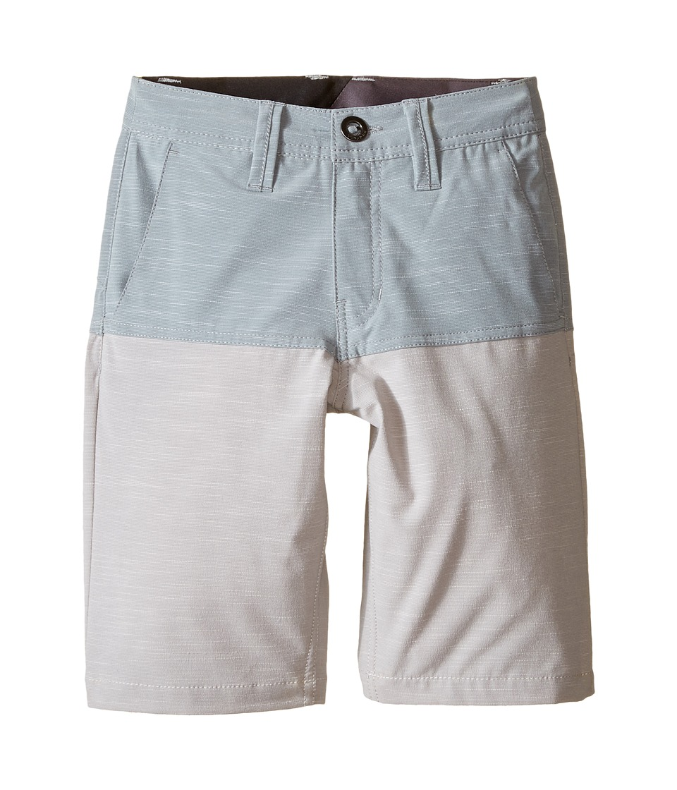 Volcom Kids - SNT Block Shorts (Big Kids) (Lead) Boy's Swimwear
