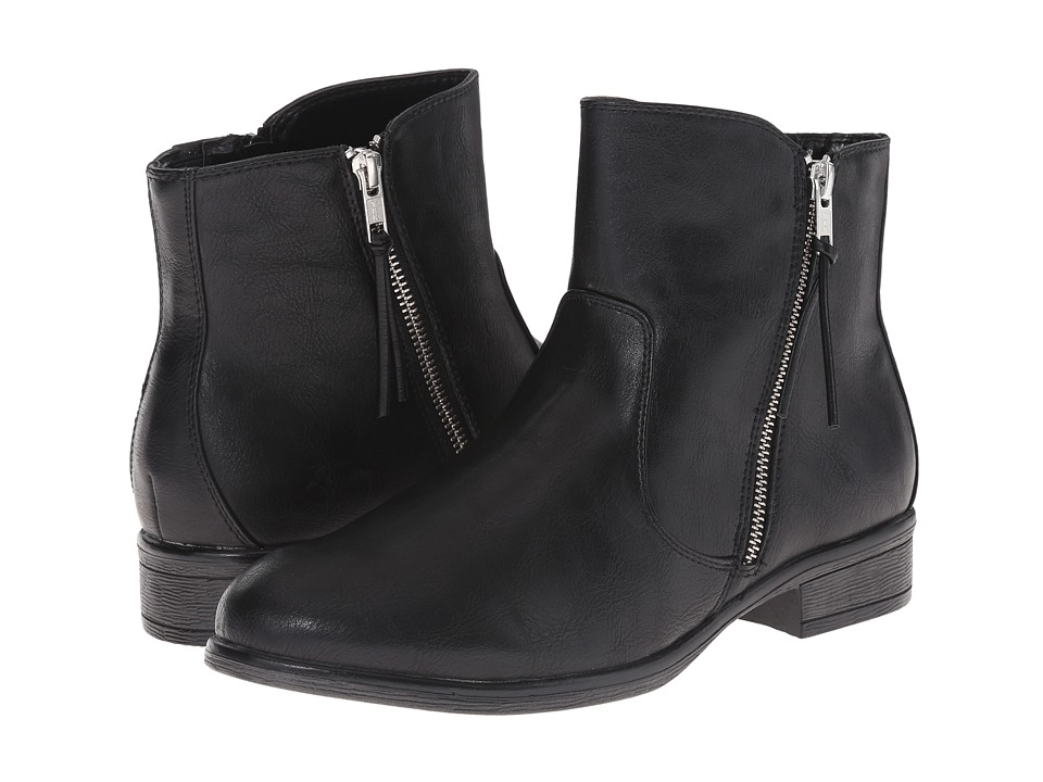 White Mountain - Barlow (Black) Women's Zip Boots