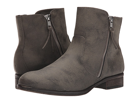 White Mountain - Barlow (Stone) Women's Zip Boots