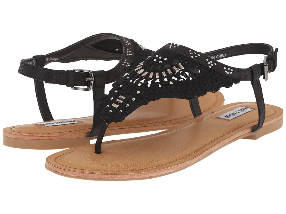 Not Rated - Crochet Me Down (Black) Women's Sandals