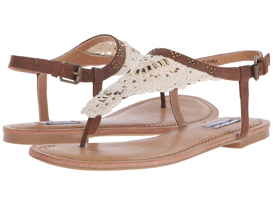 Not Rated - Crochet Me Down (Tan) Women's Sandals