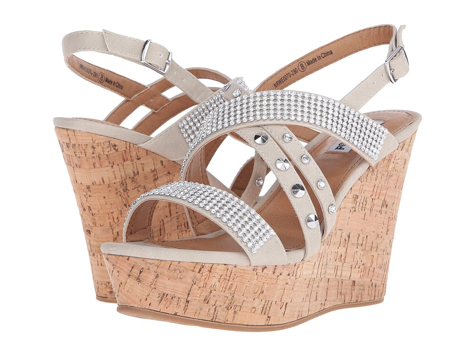 Not Rated - Viti (Cream) Women's Wedge Shoes