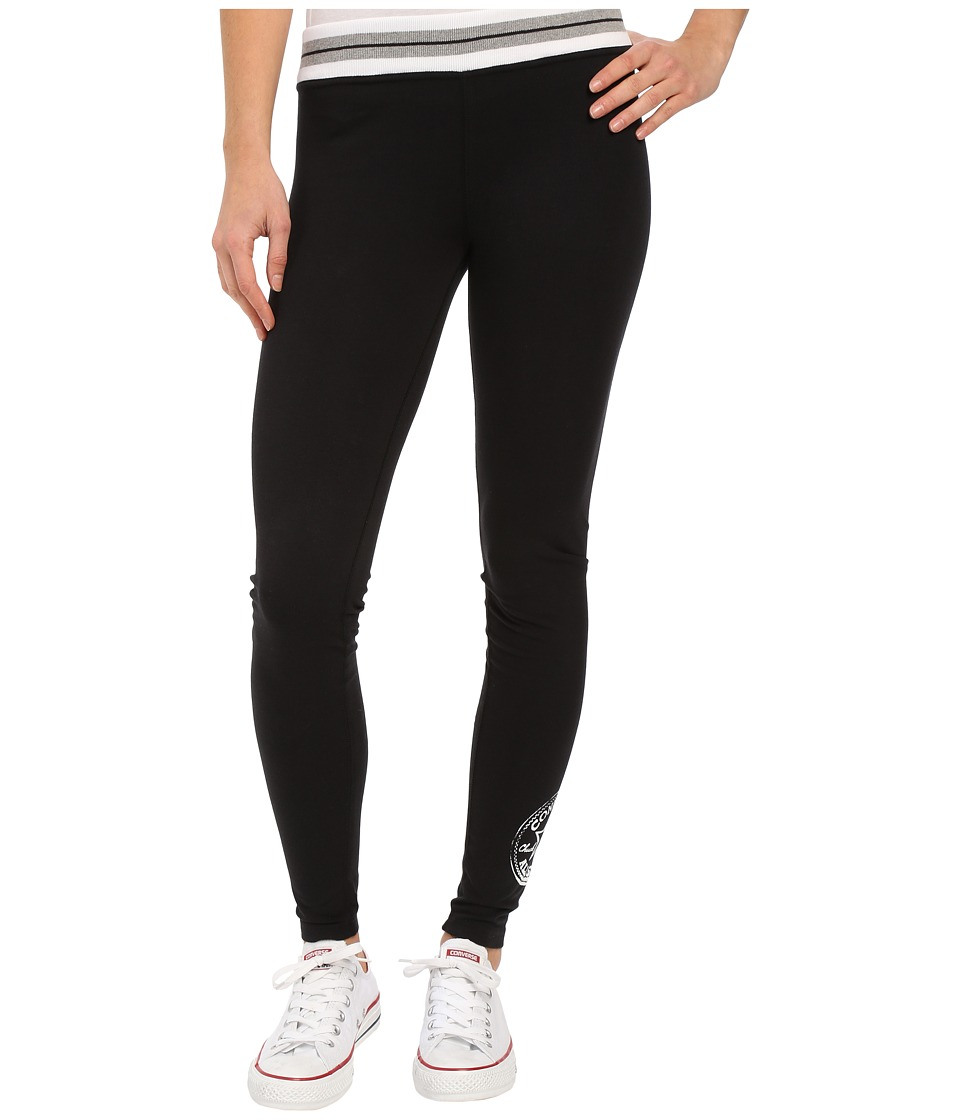 Converse - Core Plus Leggings (Black) Women's Casual Pants