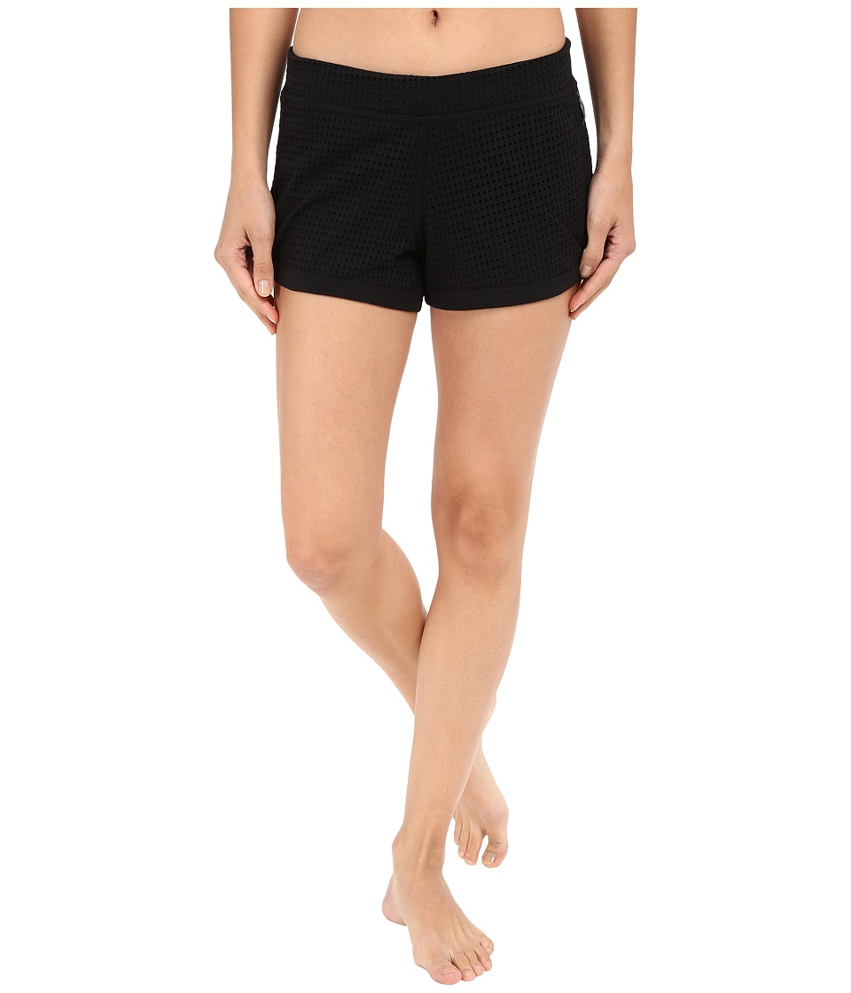 Converse - Mesh Shorts (Black) Women's Shorts