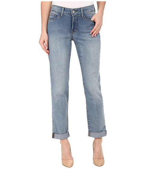 NYDJ - Sylvia Relaxed Boyfriend in Earlington Wash (Earlington Wash) Women's Jeans