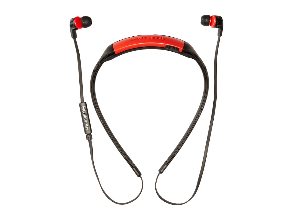 Skullcandy - Smokin Buds 2 Bluetooth (Black/Red/Red) Headphones