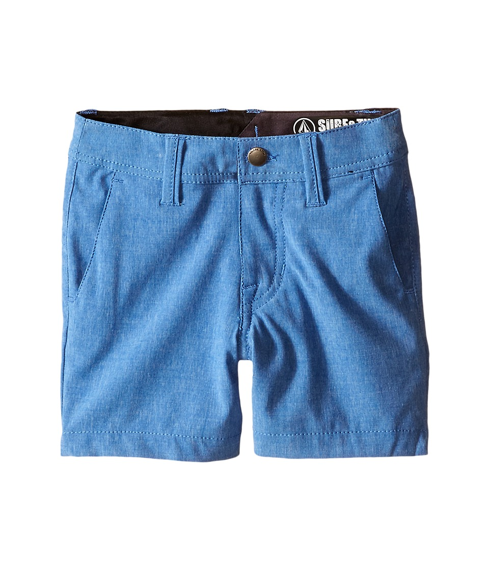 Volcom Kids - SNT Static Hybrid (Toddler/Little Kids) (Estate Blue) Boy's Shorts