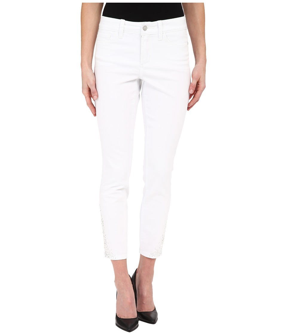NYDJ - Amira Fitted Ankle in Optic White (Optic White) Women's Jeans