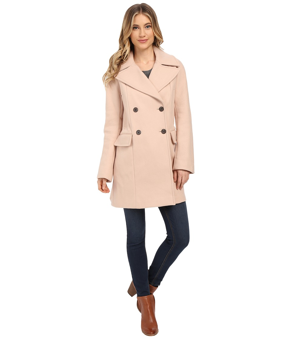 Vince Camuto - Cacoon Wool Peacoat J8441 (Smoky Blush) Women's Coat
