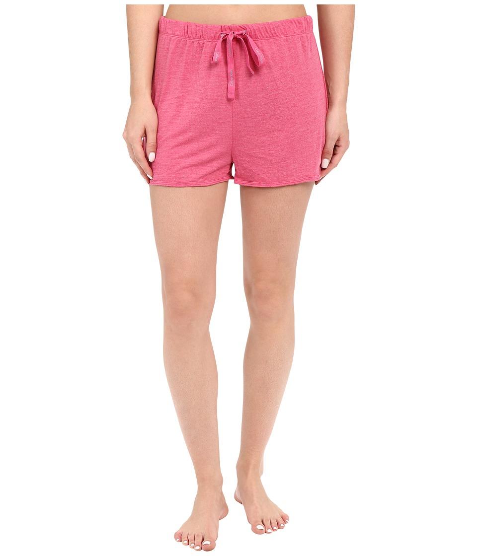 Calvin Klein Underwear - Liquid Lounge Lounge Shorts (Flourish) Women's Pajama