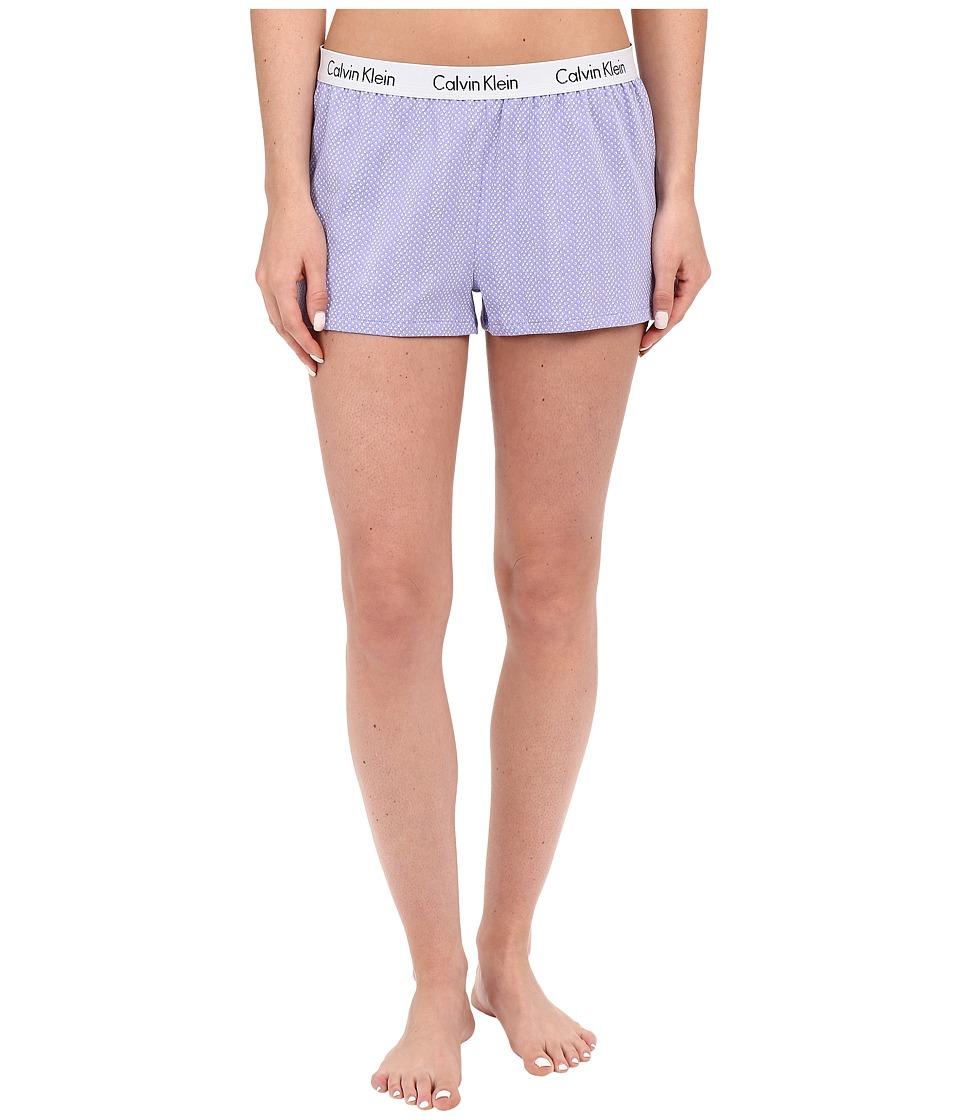 Calvin Klein Underwear - Shift Knit Shorts (Dual Tone Dots) Women's Pajama