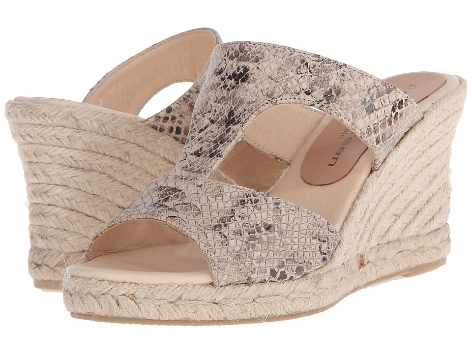 Patricia Green - Python (Sand) Women's Slippers