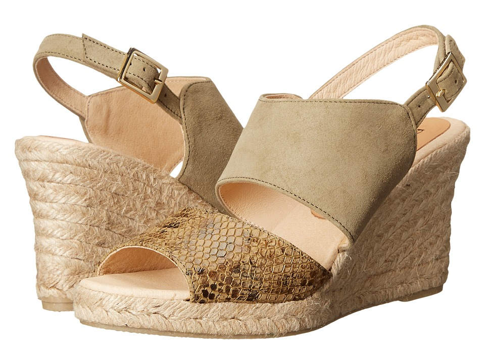 Patricia Green - Elise (Khaki) Women's Slippers