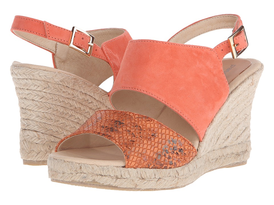 Patricia Green - Elise (Coral) Women's Slippers