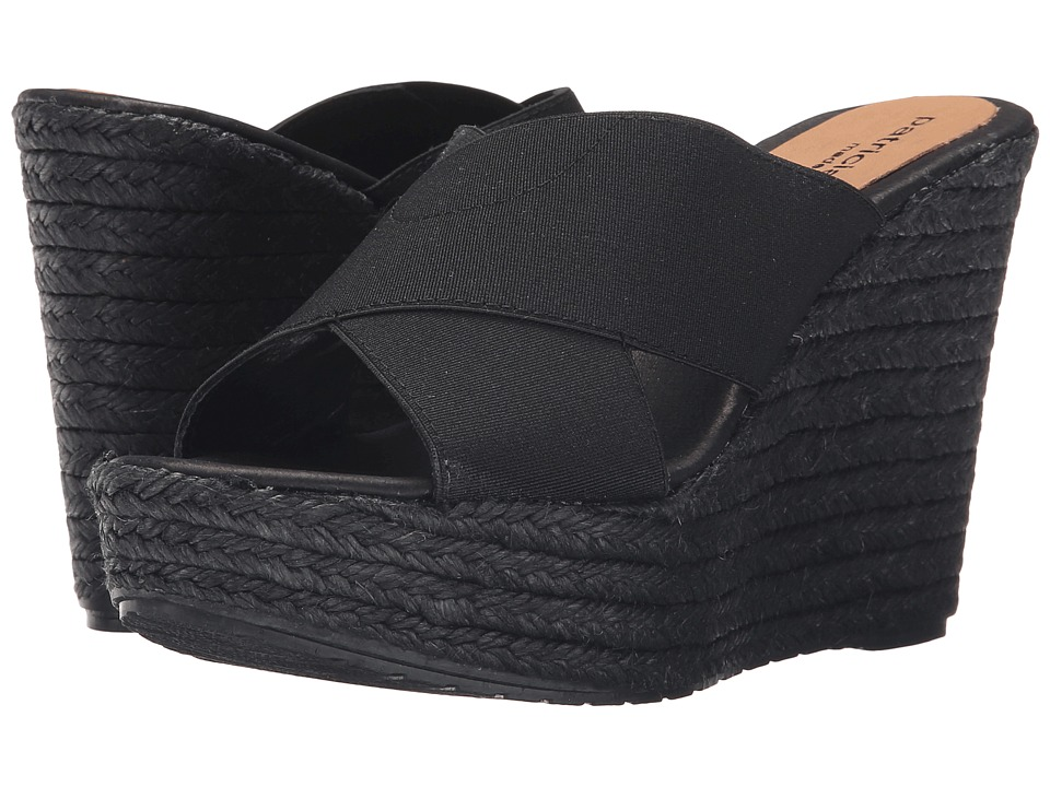 Patricia Green - Nora (Black) Women's Slippers