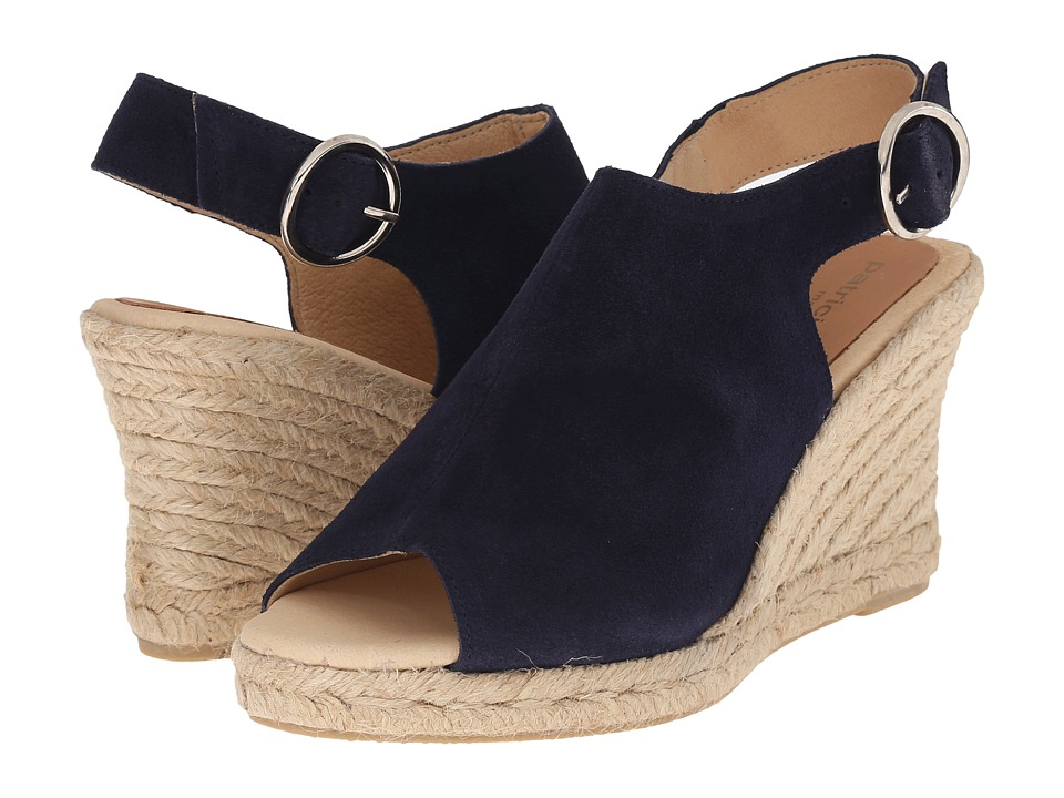 Patricia Green - Belle (Navy) Women's Slippers