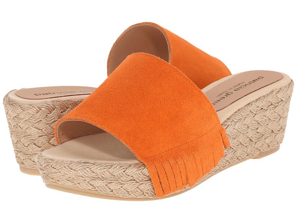 Patricia Green - Dallas (Orange) Women's Slippers