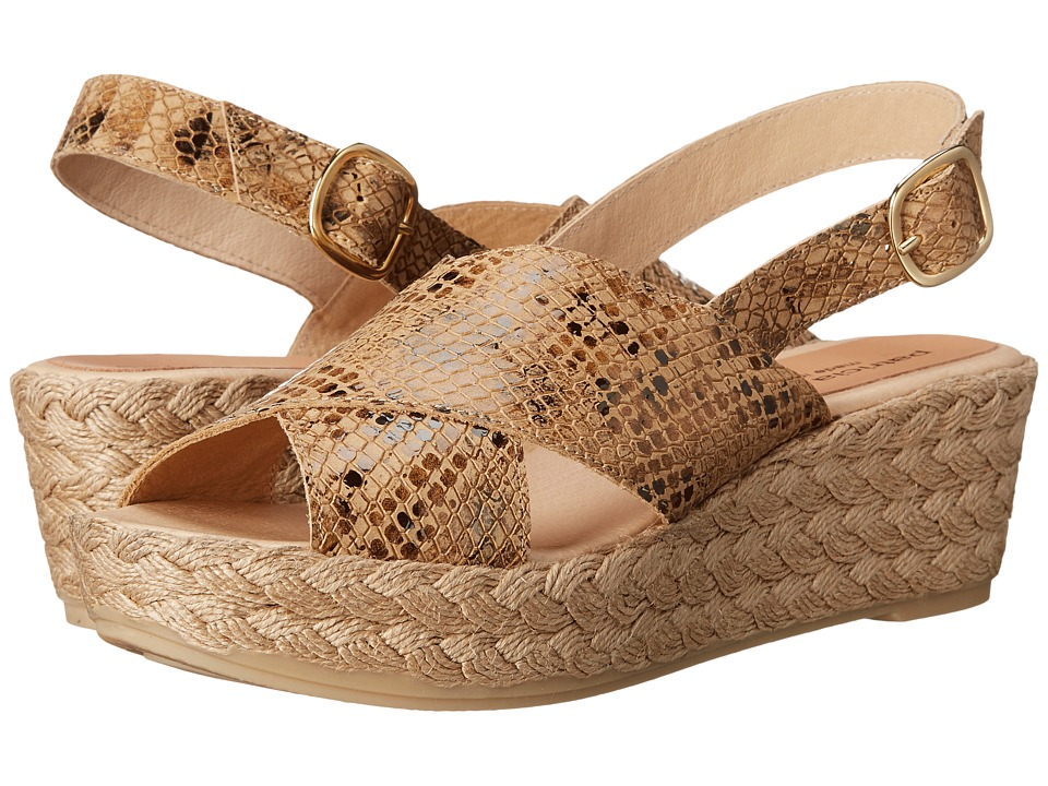 Patricia Green - Emily (Camel) Women's Slippers