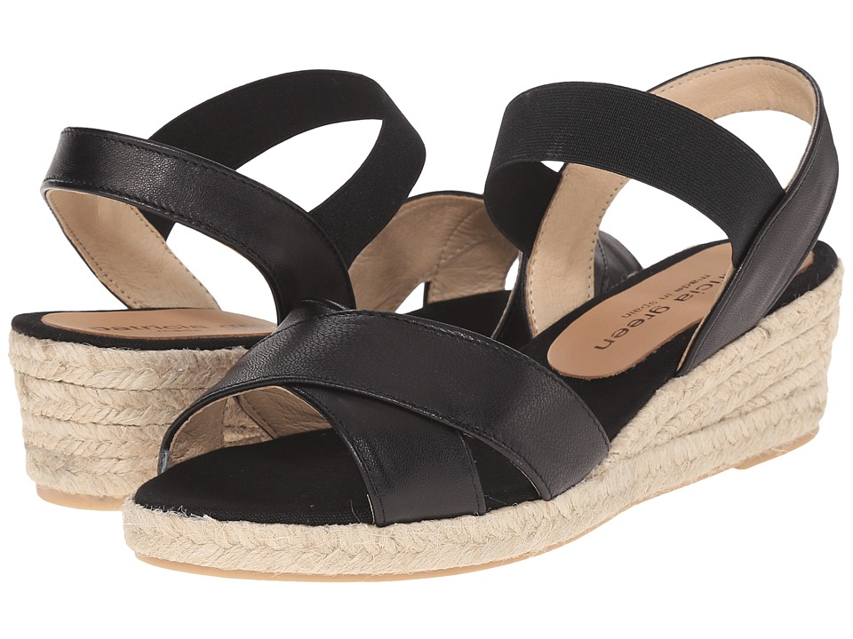 Patricia Green - Abbie (Black) Women's Slippers