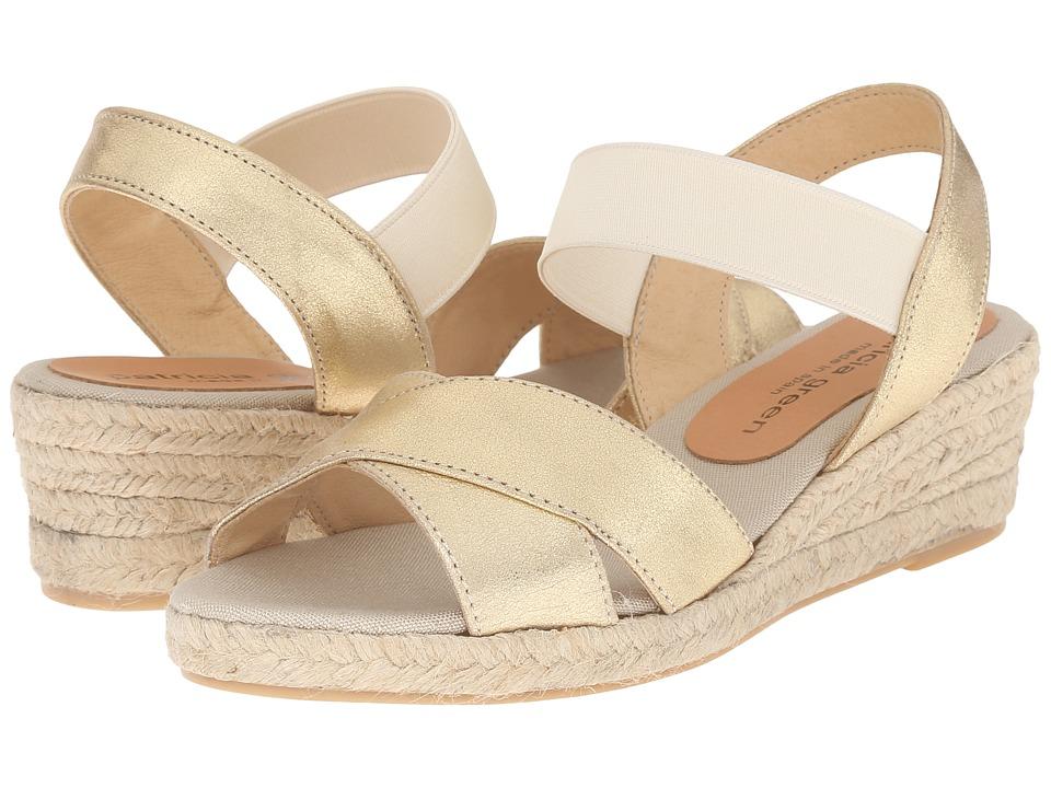 Patricia Green - Abbie (Gold Metallic) Women's Slippers