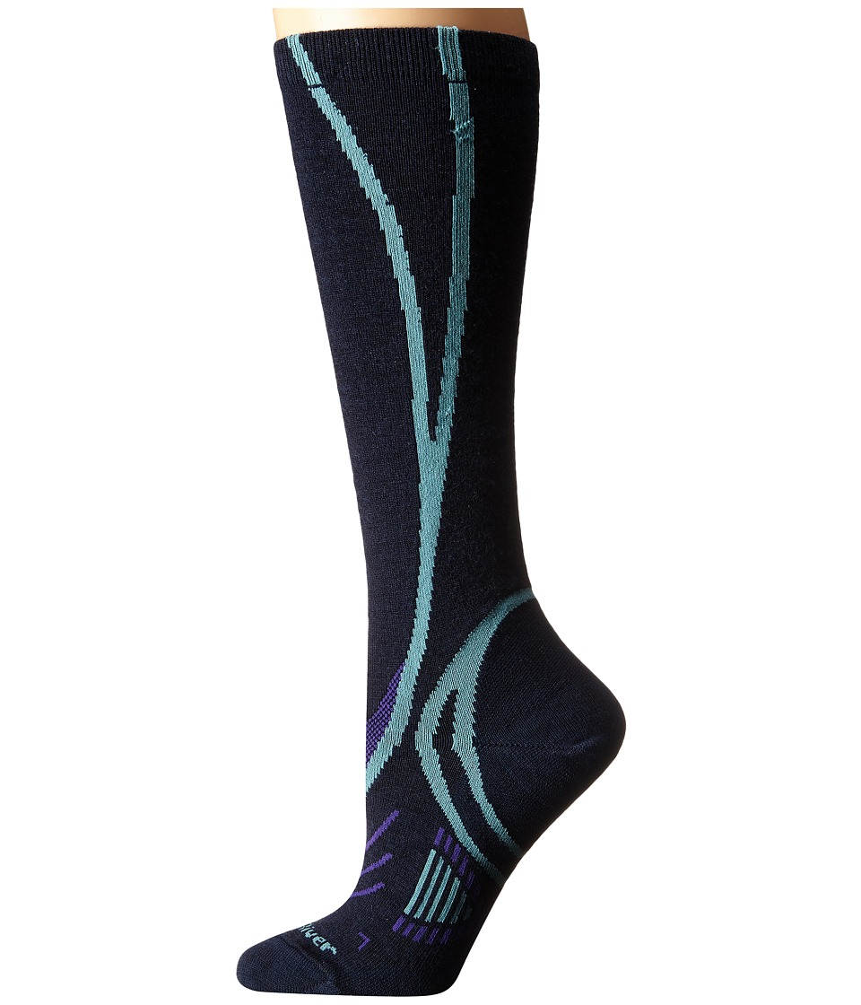 Fox River - Vvs Ul Pro (Navy/Turquoise) Women's Crew Cut Socks Shoes