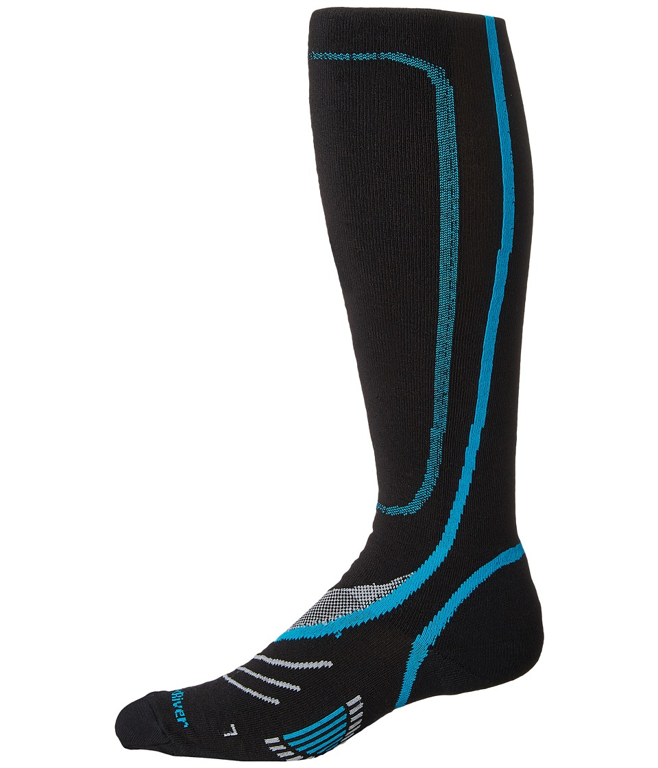Fox River - Vvs Lw Pro (Black/Blue) Crew Cut Socks Shoes