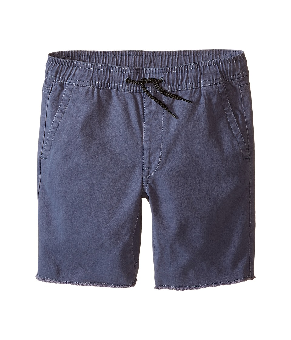 Volcom Kids - Volatility Elastic Waist Shorts (Big Kids) (Grey Blue) Boy's Shorts