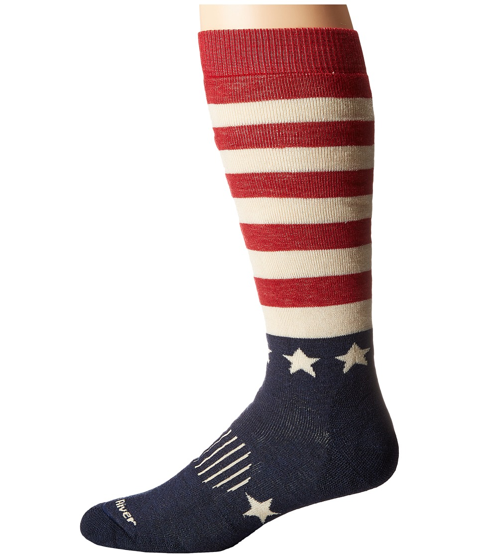Fox River - Old Glory Mw (Flag Assorted) Crew Cut Socks Shoes