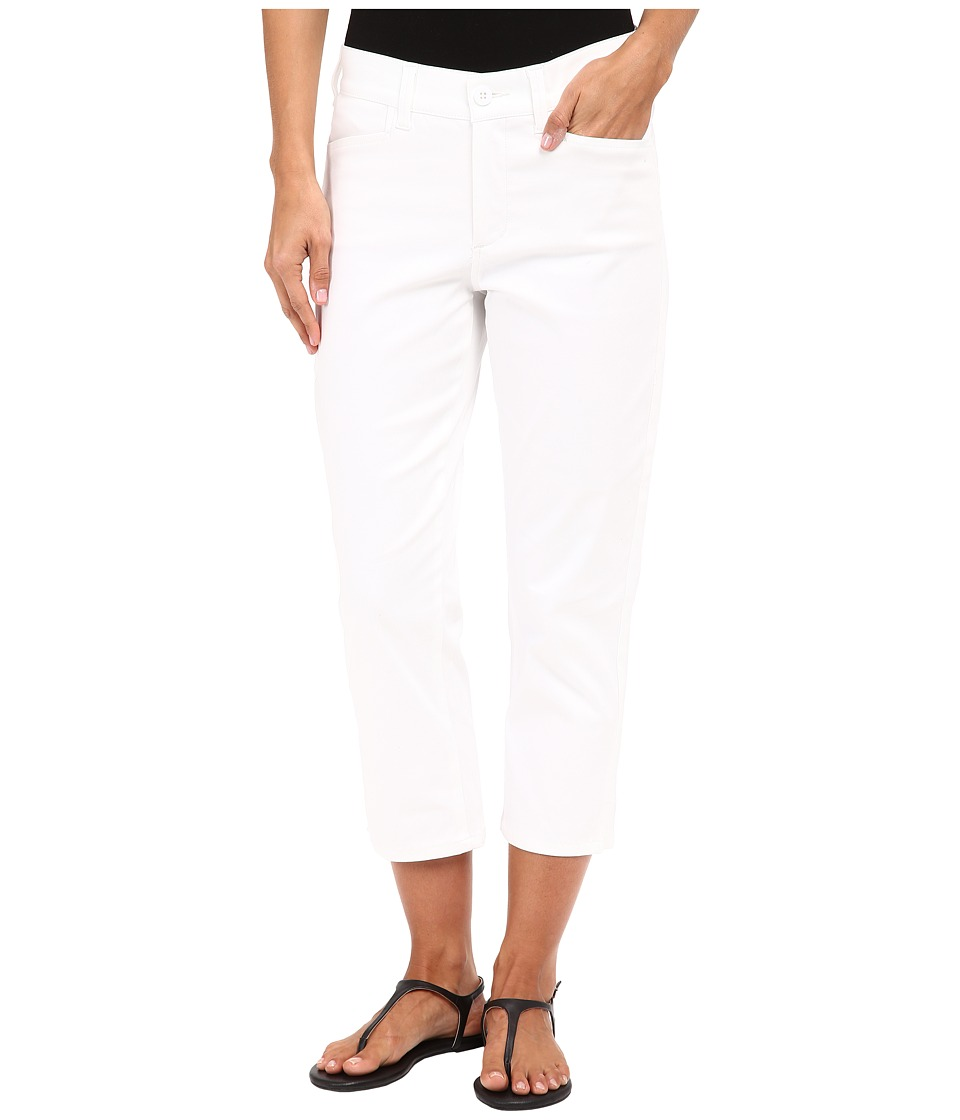NYDJ Karen Capris (Optic White) Women