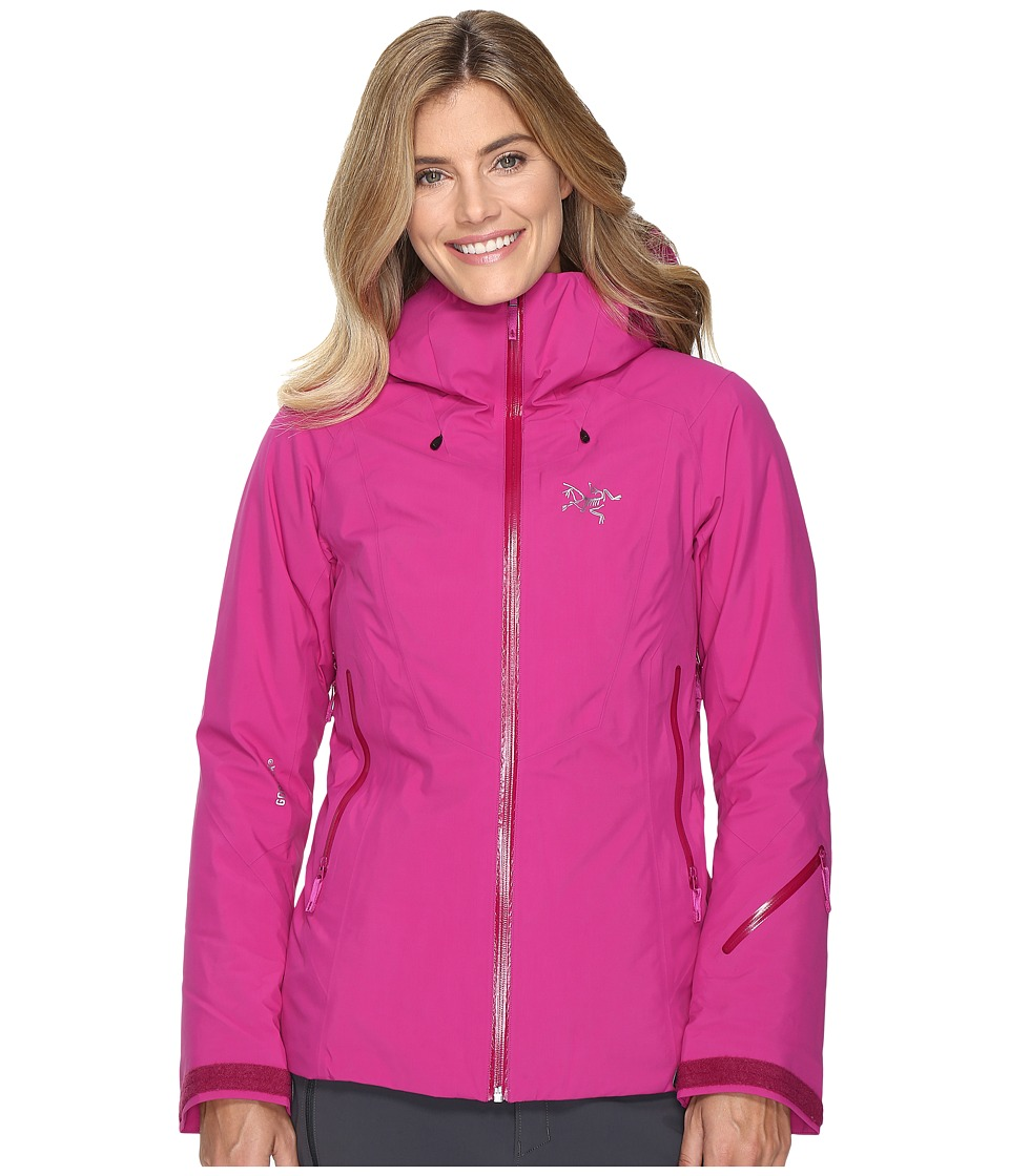 Arc'teryx - Lillooet Jacket (Violet Wine) Women's Coat